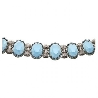 Bracelet with cubic zirconia